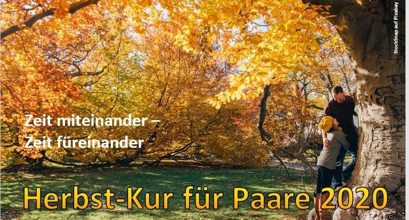 Herbst-Kur für Paare